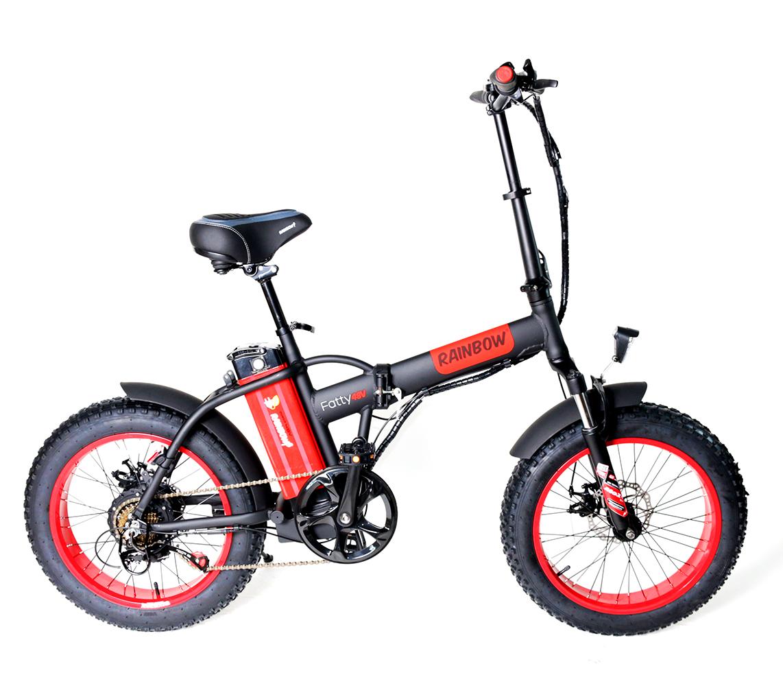 אופניים חשמליים 48 וולט עם בולם זעזועים RAINBOW FATTY MCC